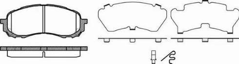 Remsa 1081.11 - Piduriklotsi komplekt,ketaspidur multiparts.ee