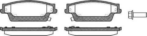 Remsa 1087.04 - Piduriklotsi komplekt,ketaspidur multiparts.ee