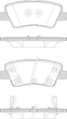 Cifam 822-886-1 - Piduriklotsi komplekt,ketaspidur multiparts.ee