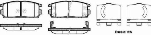 Remsa 1260.12 - Piduriklotsi komplekt,ketaspidur multiparts.ee