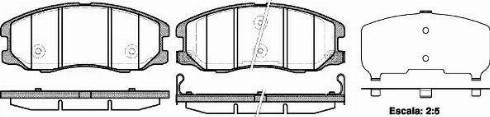Remsa 1261.12 - Piduriklotsi komplekt,ketaspidur multiparts.ee