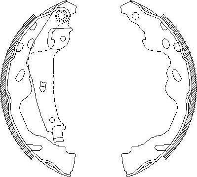 Alpha Brakes HST-TY-074 -  multiparts.ee