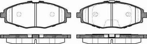 Alpha Brakes HKP-DW-007 - Piduriklotsi komplekt,ketaspidur multiparts.ee