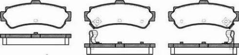 Alpha Brakes HKT-NS-037 - Piduriklotsi komplekt,ketaspidur multiparts.ee