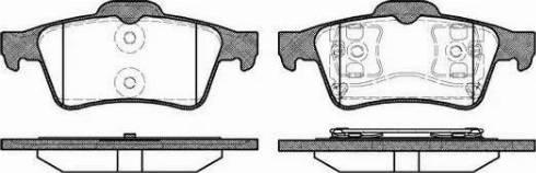 Alpha Brakes HKT-NS-041 - Piduriklotsi komplekt,ketaspidur multiparts.ee