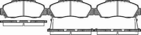 Alpha Brakes HKP-HD-032 - Piduriklotsi komplekt,ketaspidur multiparts.ee