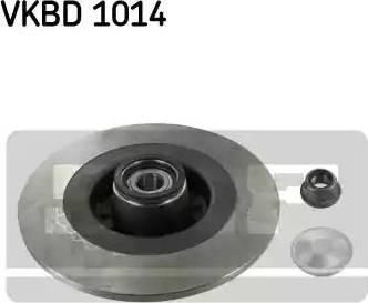 SKF VKBD 1014 - Piduriketas multiparts.ee