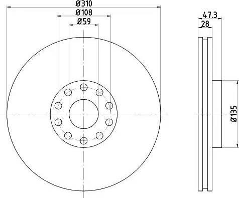 Textar 92097500 - Piduriketas multiparts.ee