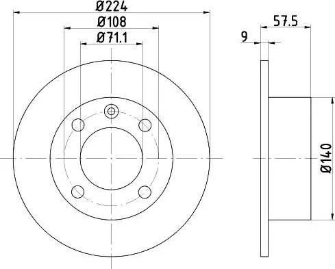 Textar 92059700 - Piduriketas multiparts.ee
