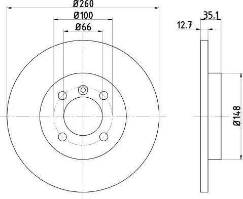 Textar 92026400 - Piduriketas multiparts.ee