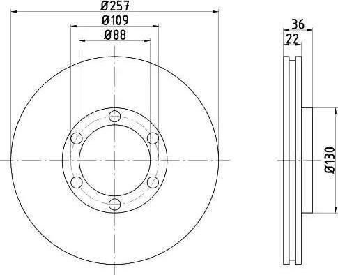Textar 92075800 - Piduriketas multiparts.ee