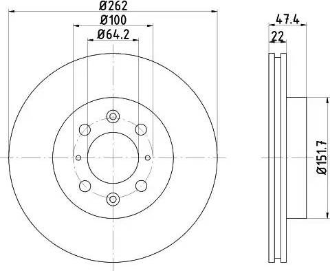 Textar 92070600 - Piduriketas multiparts.ee