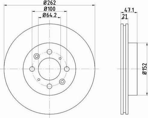 Textar 92078000 - Piduriketas multiparts.ee