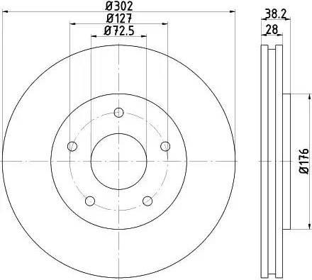 Textar 92181503 - Piduriketas multiparts.ee