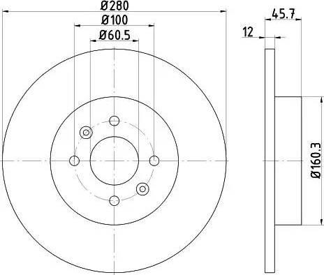 Textar 92181203 - Piduriketas multiparts.ee
