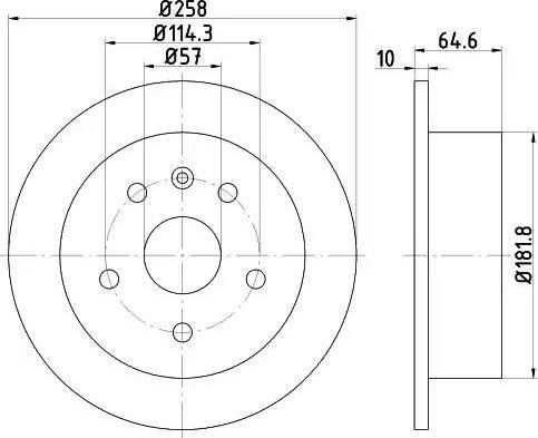 Textar 92128900 - Piduriketas multiparts.ee