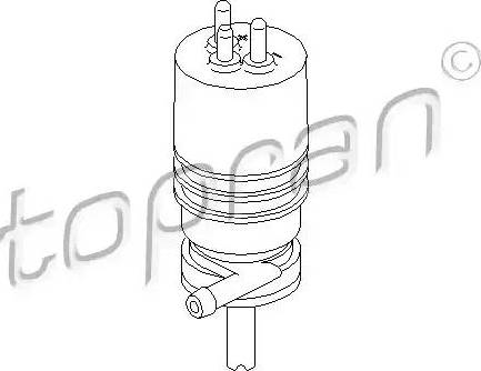 Topran 400 117 - Klaasipesuvee pump,tulepesur multiparts.ee
