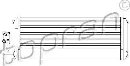 Topran 103 705 - Soojusvaheti,salongiküte multiparts.ee