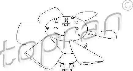 Topran 102 548 - Ventilaator,mootorijahutus multiparts.ee