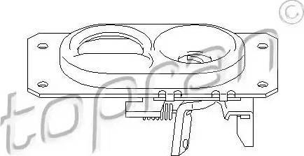 Topran 107 406 - Mootorikapoti lukk multiparts.ee