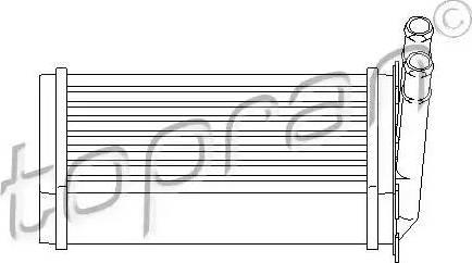 Topran 107 407 - Soojusvaheti,salongiküte multiparts.ee