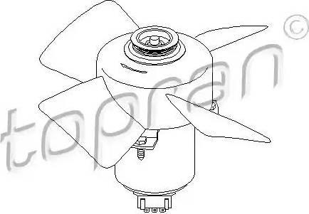 Topran 107 708 - Ventilaator,mootorijahutus multiparts.ee