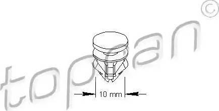 Topran 111 491 - Stopper, ehis-/kaitseliist multiparts.ee