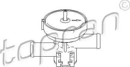 Topran 207 465 - Jahutusvedeliku regulaatorklapp multiparts.ee