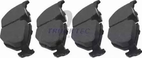 Trucktec Automotive 08.34.104 - Piduriklotsi komplekt,ketaspidur multiparts.ee