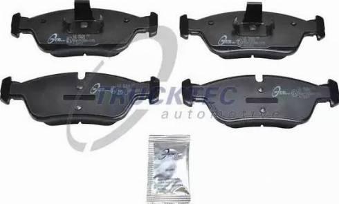 Trucktec Automotive 08.35.006 - Piduriklotsi komplekt,ketaspidur multiparts.ee