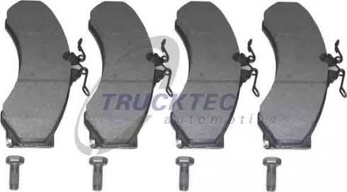 Trucktec Automotive 02.35.083 - Piduriklotsi komplekt,ketaspidur multiparts.ee