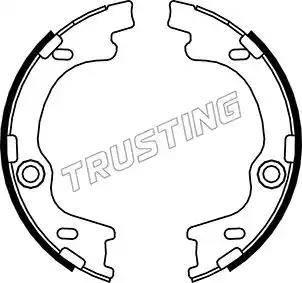 Trusting 046.221 - Piduriklotside komplekt,seisupidur multiparts.ee