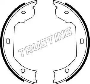 Trusting 019.029 - Piduriklotside komplekt,seisupidur multiparts.ee