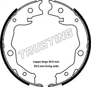 Trusting 115.322 - Piduriklotside komplekt,seisupidur multiparts.ee