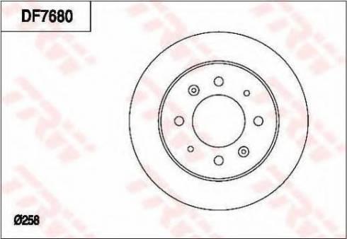 TRW DF7680 - Piduriketas multiparts.ee
