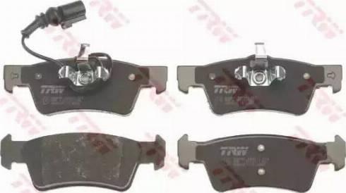 TRW GDB1671 - Piduriklotsi komplekt,ketaspidur multiparts.ee