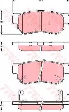 Cifam 822-365-0 - Piduriklotsi komplekt,ketaspidur multiparts.ee