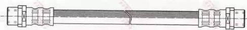 TRW PHA344 - Pidurivoolik multiparts.ee