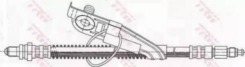 TRW PHC291 - Pidurivoolik multiparts.ee