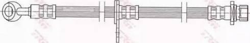 TRW PHD448 - Pidurivoolik multiparts.ee