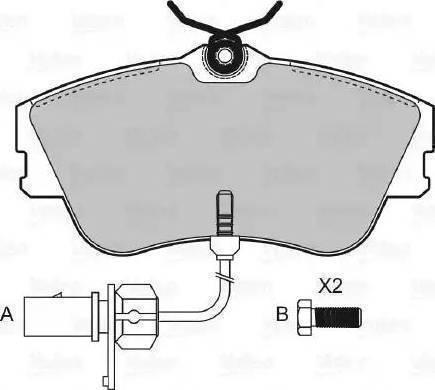 Cifam 822-164-0 - Piduriklotsi komplekt,ketaspidur multiparts.ee