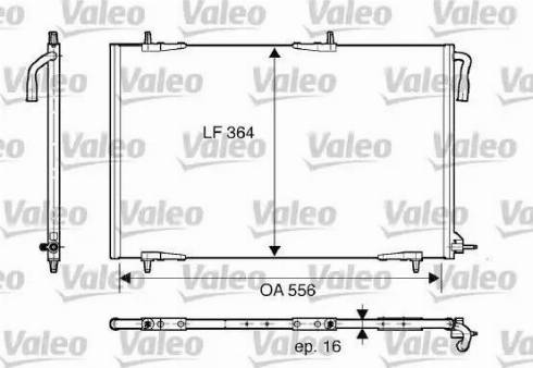 Valeo 818000 - Kondensaator,kliimaseade multiparts.ee