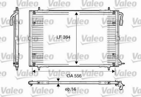 Valeo 817283 - Kondensaator,kliimaseade multiparts.ee