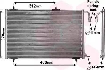Van Wezel 40005257 - Kondensaator,kliimaseade multiparts.ee