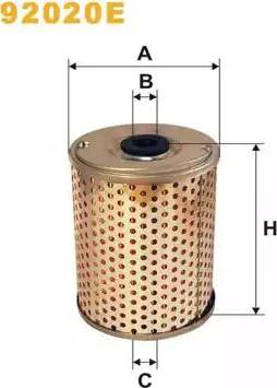 WIX Filters 92020E - Hüdraulikafilter,roolimine multiparts.ee