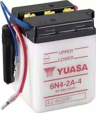 Yuasa 6N4-2A-4 - Käivitusaku multiparts.ee