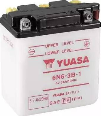 Yuasa 6N6-3B-1 - Käivitusaku multiparts.ee