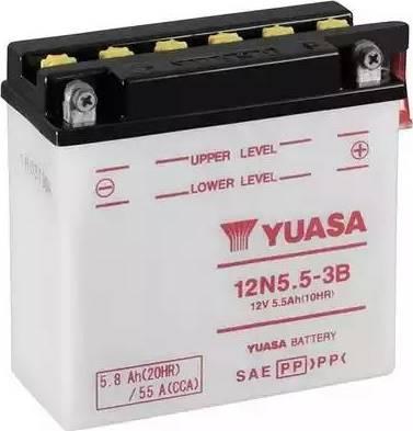 Yuasa 12N5.5-3B - Käivitusaku multiparts.ee