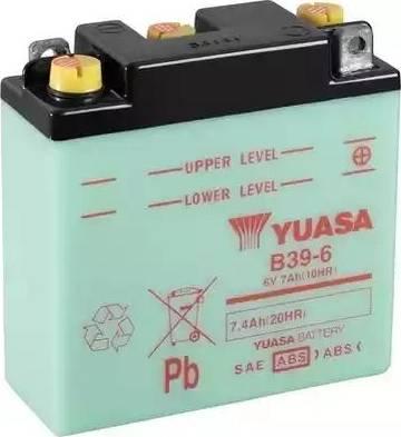 Yuasa B39-6 - Käivitusaku multiparts.ee