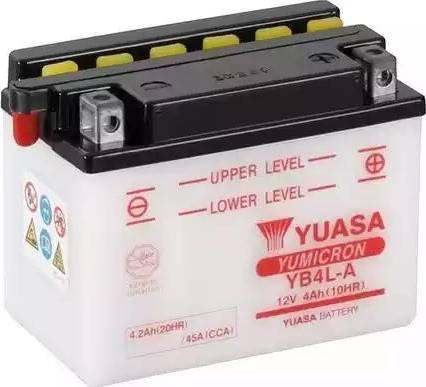 Yuasa YB4L-A - Käivitusaku multiparts.ee
